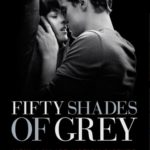 Cover page for 50 shades of grey showing christian and ana in a steamy embrace