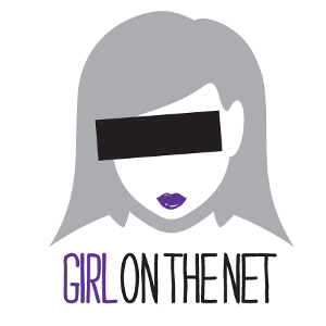 Girl on the Net purple eye avatar
