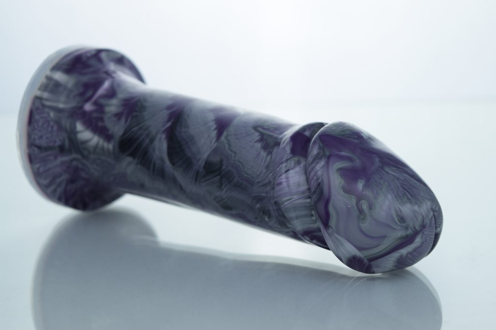 GOTN custom dildo side view colours