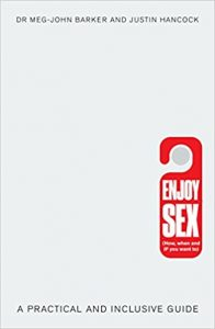 Cover image for the book 'Enjoy Sex' with a red 'do not disturb' style sign on a white background