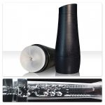 Fleshlight Flight pilot stroker - clear matte textured sheath in a black case