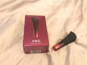 Image of AMO bullet vibe with packaging